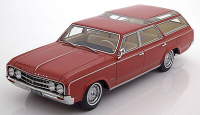 1964 Oldsmobile Vista Cruiser - 1964 Oldsmobile Vista Cruiser Light Brown by BoS Models LE of 1000 1/18 Scale
