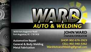 Auto body Repair and Welding and Fabrication