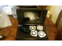 Psp games output lcd high quality monitor and tv cables
