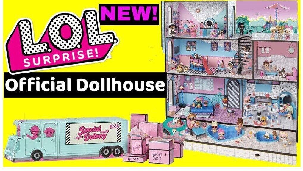 Lol Surprise Dolls House In Blaina Blaenau Gwent Gumtree