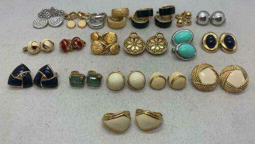 Monet Clip-On Earrings (Pick Your Pair) Hoops, Dangles, Enamel, Silver, Gold