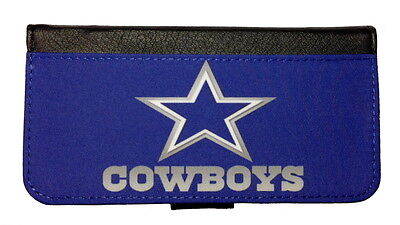 - DALLAS COWBOYS SAMSUNG GALAXY & iPHONE CELL PHONE CASE LEATHER COVER WALLET