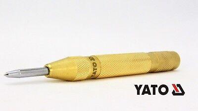 YATO Automatik Körner 125 mm Stahl Automatischer Körner Spitz Ankörner