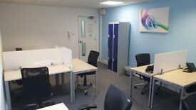 Co-working 322 sqft serviced office to rent at Havant, Harts Farm Way
