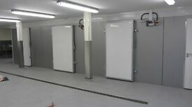 Air conditioning / coldrooms built to any size.