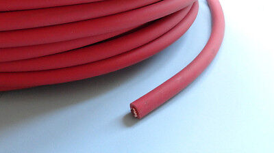 110A Battery Starter Car Automotive Electrical Cable Wiring (RED)