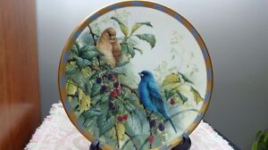 Set Of Lenox Collector Plates ( Nature's Collage Series Birds) London Ontario image 7
