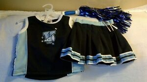 Toddlers Cute Cheerleading Costume. Size 2T