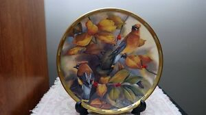 Set Of Lenox Collector Plates ( Nature's Collage Series Birds) London Ontario image 5