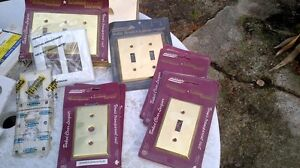 New and Used Brass,Plastic wall plates London Ontario image 1