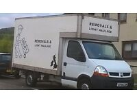 Man and Van, Removals, always happy to assist.