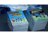 Dandy and Beano Comic Library editions - RARE !!!