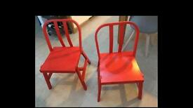 2 IKEA PS dining chairs