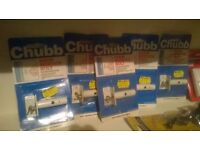 Five Chubb door and window locks perfect central London bargain