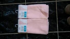 Pale pink long length Voiles