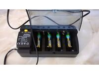 BATTERY CHARGER 5 TYPES OF BATTERY PLUS BATTERIES