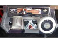 New Extractor Fan Manrose Low Voltage Showerlite Kit Designed For Installation In Shower Cubicle