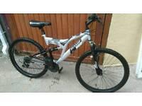 """Dunlop 26"""" full suspension mountain bike"""