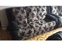 Sofa and reclining armchair for sale!
