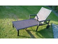 A Bellagio Adjustable Sun Lounger As Pictured. Bargain As Cost £99, Owner Emigrating.