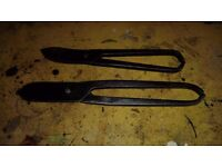 Two Vintage Tin Snips / Shears