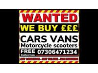 ♻️‼️SELL MY CAR VAN BIKE FOR CASH ANY CONDITION SCRAP DAMAGED NON RUNNING FAST COLLECTION TODAY NW1