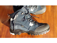 Ecco Gore-Tex Womens Walking Hiking Outdoor Ankle Boots