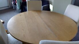 IKEA Dining table with chairs for sell