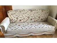 Brand New! Cream Sofa settee 3 seater