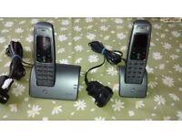 BT Hudson twin home phones
