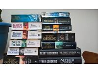 Terry Goodkind books x 14
