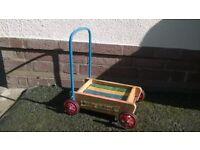 vintage toddlers walker.