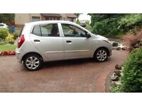 2012 Hyundai i10 Classic 5 door Hatchback- Save £100s Refer What Car Valuation.