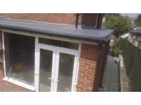 Fibreglass Flat Roofing (GRP)