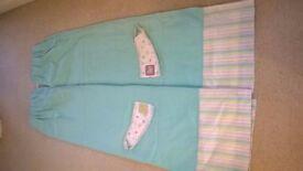Nursery curtains suit boy or girl