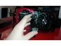 GPU GEFORCE GTX 1060 GAMING X