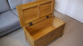 Solid Oak Blanket Box / Storage Chest Barker & Stonehouse