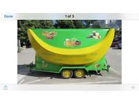 Burger van ice cream caravan Kettering van