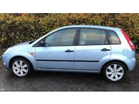CHEAP DIESEL FORD FIESTA GHIA 1.4L TDCI (2005) year mot top of the range with leather seats