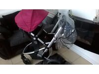 LOVELY MOTHERCARE XPEDIOR FRONT AND REAR FACING PUSHCHAIR , PRAM