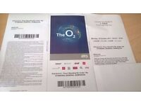 J Cole Standing ticket 02 arena London 16/10/17
