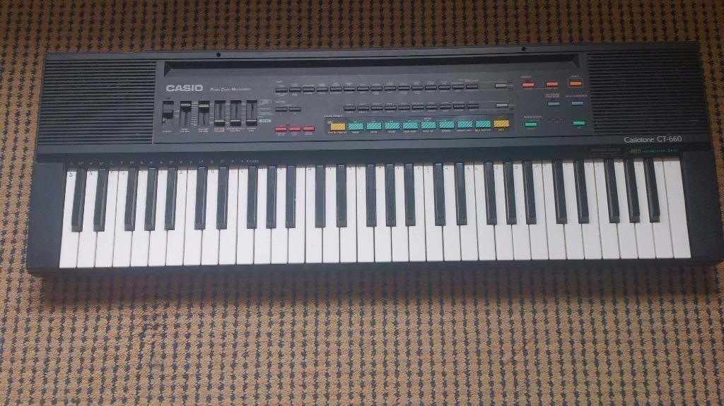 casio keyboard casiotone ct 660 in coleraine county londonderry gumtree. Black Bedroom Furniture Sets. Home Design Ideas