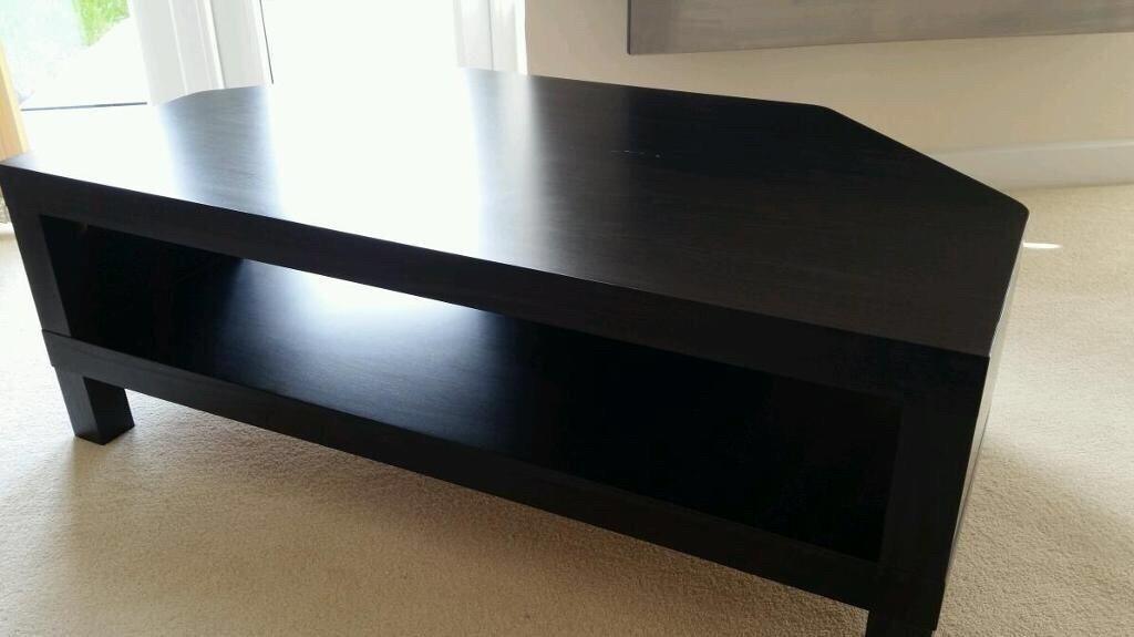 corner tv stand ikea hack. Black Bedroom Furniture Sets. Home Design Ideas