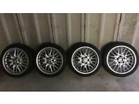 Bmw 18inch M SPORT MV wheels and good tyres x 4