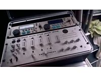 Kam KCD Pro 500 Mixer & Twin CD in Flightcase