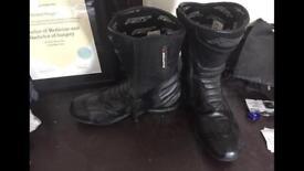 RST raptor motorbike boots
