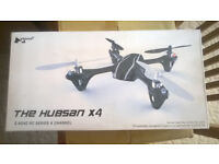 Quadcopter, Hubsan x4, 2.4GHz RC Series 4 channel