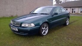 VOLVO C70 2.0 TURBO, COUPE, LPT AUTOMATIC / FULL LEATHER / FULL SERVICE HISTORY / 1 YEAR MOT