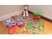 Frozen and Dora toys-bundle