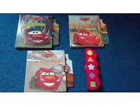 Cars interactive story books.